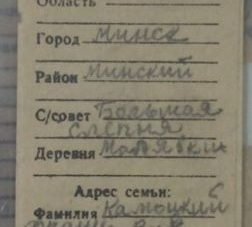 Житомирські пошуківці знайшли родичів солдата з Білорусі, який загинув у 1941 році