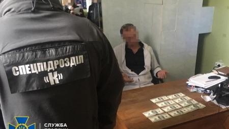 Представник військово-лікарської комісії вимагав гроші з пораненого учасника ООС
