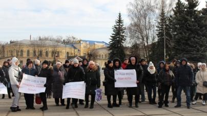Житомирські підприємці знову вийшли на мітинг під ОДА