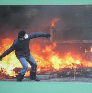 У Житомирській міськраді відкрили виставку пам'яті Небесної Сотні