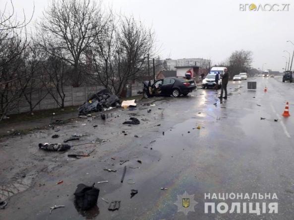 Жахливе ДТП у Любарі: загинули два водії, жінка та її однорічна дитина