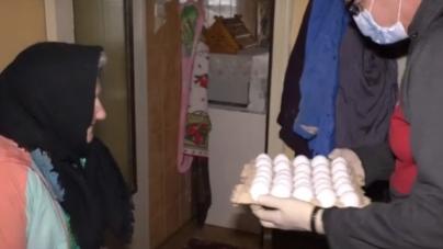 З початку карантину соцслужби Житомира роздали майже 7 тисяч продуктових пакунків