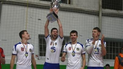 Комунальна волейбольна команда області отримала Кубок України