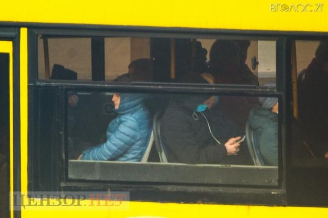 У Житомирі змінили обмеження щодо кількості пасажирів у транспорті під час карантину