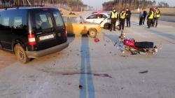 ДТП під Житомиром: постраждав 61-річний водій мотоцикла