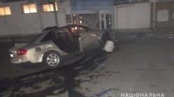 Вночі іномарка врізалася в магазин у Малині: загинув пасажир. Водій мав ознаки алкогольного сп'яніння