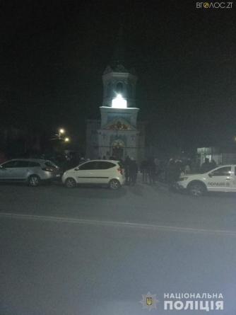 Упродовж ночі до церков області прийшли близько 3,5 тисяч вірян