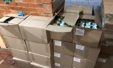 Масштабне підпільне виробництво неякісного антисептику викрили на Житомирщині