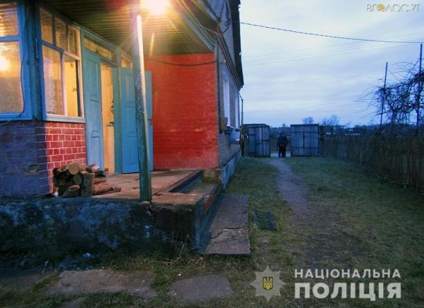 На Житомирщині поліцейські затримали підозрюваних у вбивстві чоловіка