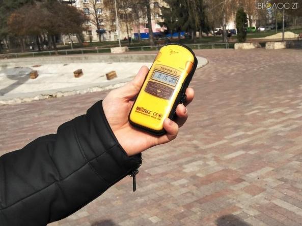Після лісових пожеж у Чорнобильській зоні в Житомирі виміряли рівень радіації