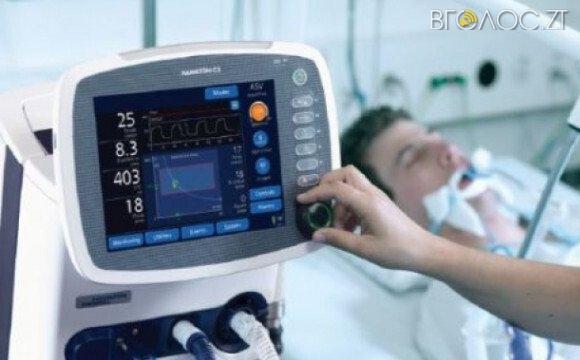 Щонайменше 10 апаратів штучної вентиляції легень потрібно придбати для лікарень міста додатково