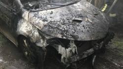 У Житомирі вщент згорів гараж з автомобілем