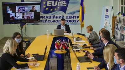 У Поліському національному університеті вперше провели  «День кар'єри ЄС»