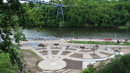 Як відбувається реконструкція набережної річки Тетерів (ФОТО)
