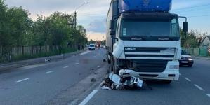 Під Житомиром фура збила насмерть водія скутера. Поліція шукає свідків ДТП