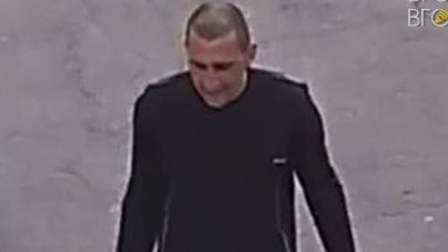 Вандал, який осквернив могили на Смолянському кладовищі, потрапив у об'єктив камери спостереження