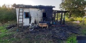 Згорів у ліжку… Під час пожежі на Житомирщині загинув чоловік