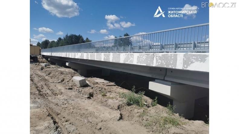 Поблизу кордону з Білоруссю на Житомирщині збудували 79-метровий міст