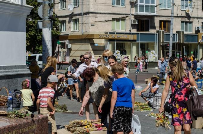 Як у Житомирі святкували Медовий Спас (ФОТО)