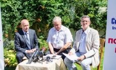 Журналістам розповіли, хто очолює штаб партії «Сила і Честь» в області (ФОТО)