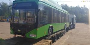 У Житомир везуть другу партію нових тролейбусів білоруського виробництва, які взяли в кредит