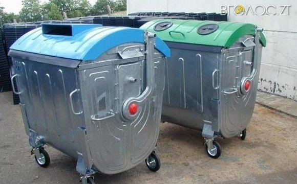 Майже 200 000  витратять на придбання контейнерів для збору сміття на кладовищах Житомира