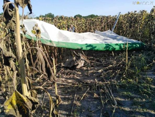 На Житомирщині розбився пілот дельтаплана