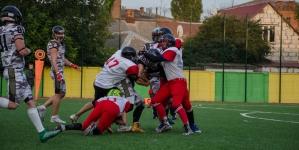 У Житомирі відбувся матч з американського футболу