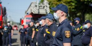 Як у Житомирі рятувальники відзначили своє професійне свято