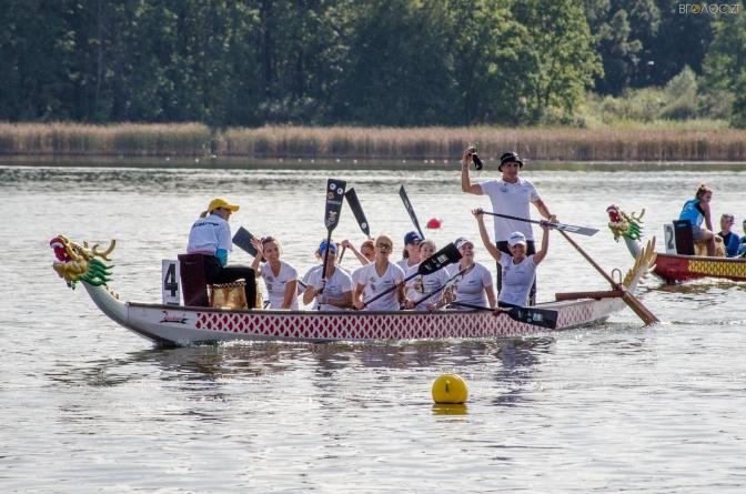 У Житомирі відбувався чемпіонат України з веслування на човнах «Дракон»