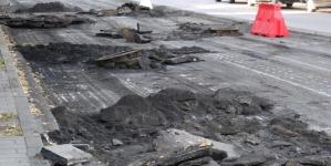 Дорогу на Київській ремонтували вночі, щоб не перекривати рух транспорту