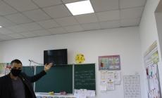Директор гімназії №23 спростував інформацію про те, що у приміщенні на Бердичівській обвалилася стеля