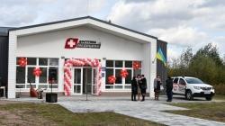 Із житлом для лікаря: на Житомирщині відкрили сучасну амбулаторію (ФОТО)