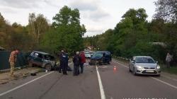 У Житомирському районі зіштовхнулися чотири авто, загинув чоловік
