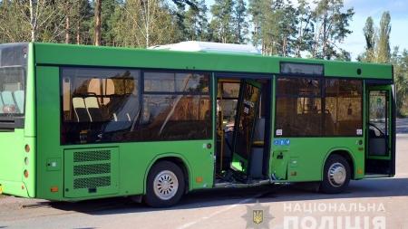 Під Вересами у ДТП потрапив приміський автобус з пасажирами