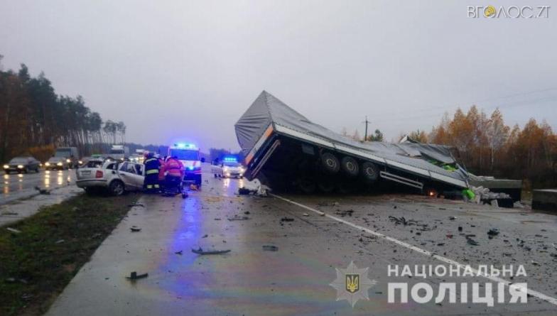 У жахливій автотрощі під Житомиром загинули 3 людей