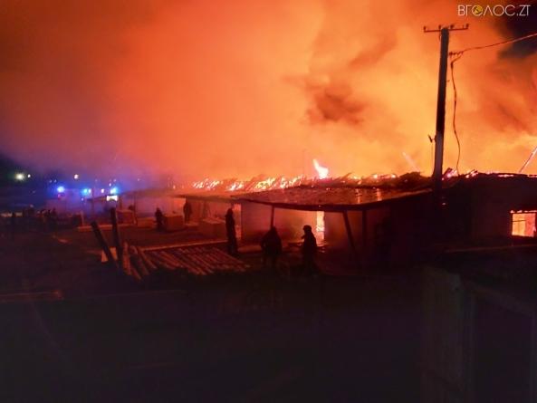 В Овручі сталася масштабна пожежа на деревообробному підприємстві