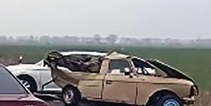 Під Коростишевом зіштовхнулись три автомобілі. Є травмовані