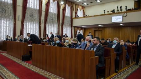 Як проходила бюджетна сесія Житомирської обласної ради (ФОТО)