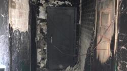 Уночі в житомирській багатоповерхівці підпалили під'їзд