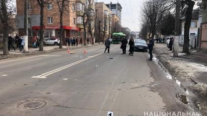 На Покровській водій іномарки на переході насмерть збив жінку та втік з місця ДТП