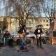 У Новограді просто неба відбулася «Лесина вечірка»