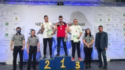 Житомиряни зайняли перше місце з параармспорту