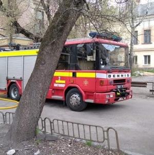 Рятувальники ліквідували займання в прибудові одного з кафе обласного центру