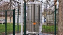 В Житомирській міській лікарні №1 встановили 2-тонний резервуар рідкого кисню