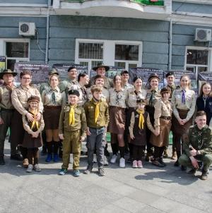 На Михайлівській відкрили експозицію «Не зрадили свої присяг»