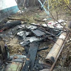 Бійці ДСНС врятувалии приватну оселю від повного знищення вогнем