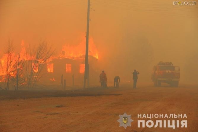 Через спалювання сухої трави жителі області отримали опіки різного ступеня тяжкості