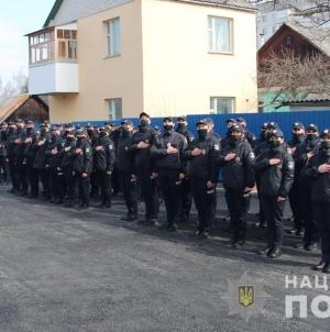 В навчальному центрі підготовки поліцейских Житомира відбувся випуск курсантів