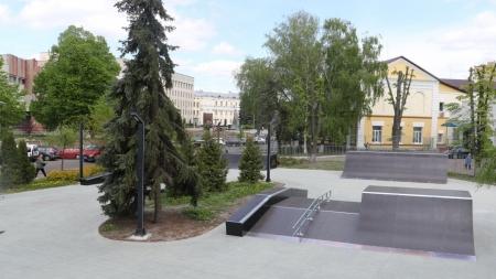 """На баланс КП """"Зеленбуд"""" передали новий скейтпарк"""